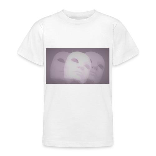 Maschere lilla - Maglietta per ragazzi