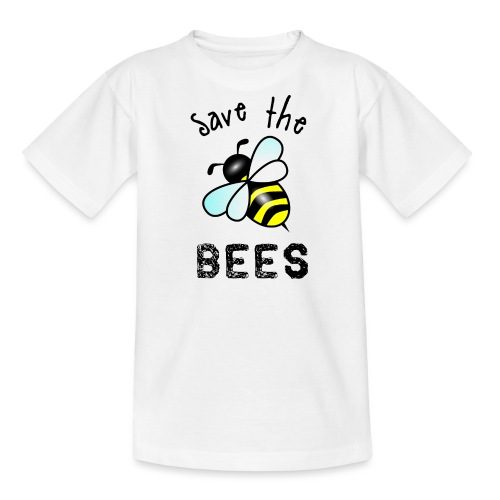 Bees4 - save the bees | Book Rebels - Teenage T-Shirt