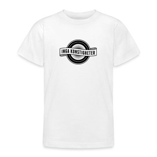 Inga Konstigheters klassiska logga (ljus) - T-shirt tonåring