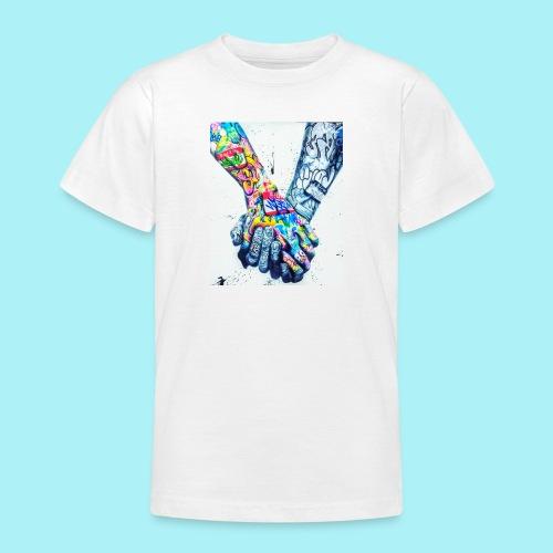 Main dans la main tatoués - T-shirt Ado