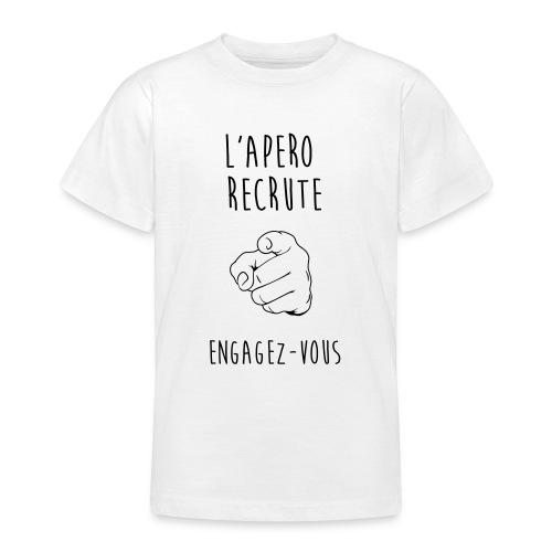 L'Apéro Recrute, Engagez-vous - T-shirt Ado