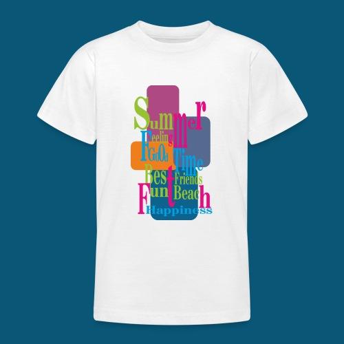 Summer Feeling.png - Teenager T-Shirt
