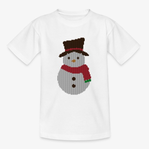Ugly Sweater - Snowman - Teenager T-Shirt