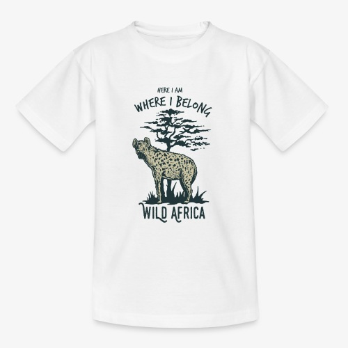Hyäne - Teenager T-Shirt