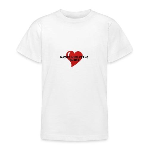 Næste-Hjælperne-Ishøj - Teenager-T-shirt