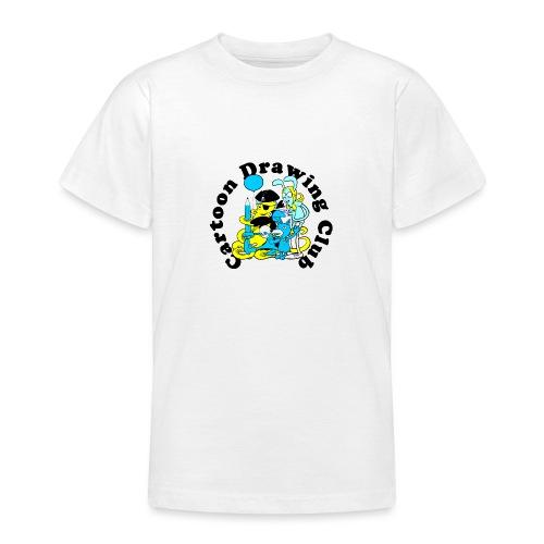 Cartoon Drawing Club - Teenage T-Shirt