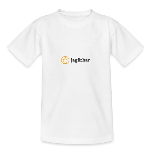 #jagärhär - T-shirt tonåring