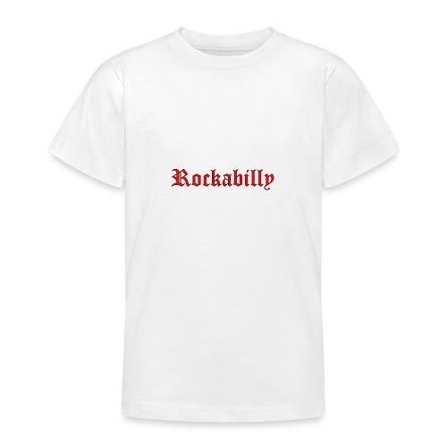 rockabilly red contour noir - T-shirt Ado