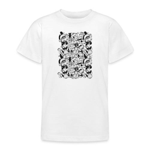 Monsters panic for star - Teenage T-Shirt
