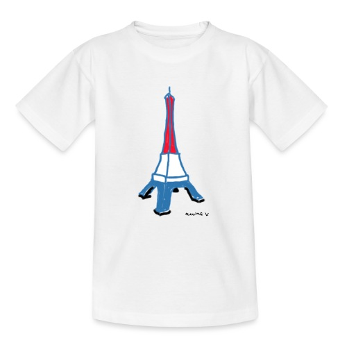 Paris Tour Eiffel - T-shirt Ado
