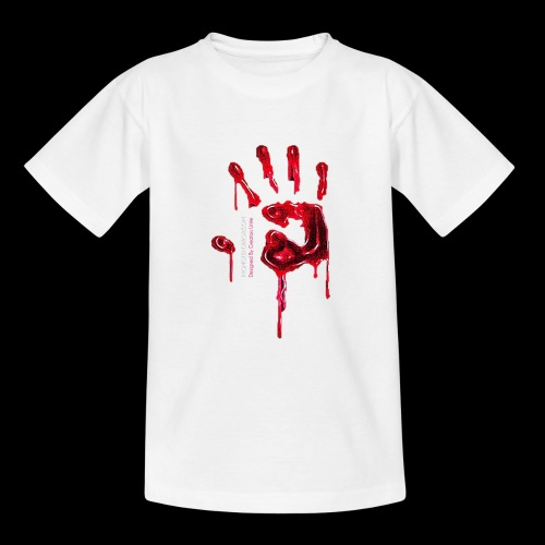 Promote Horror Blood-Soaked Hand - Teenage T-Shirt