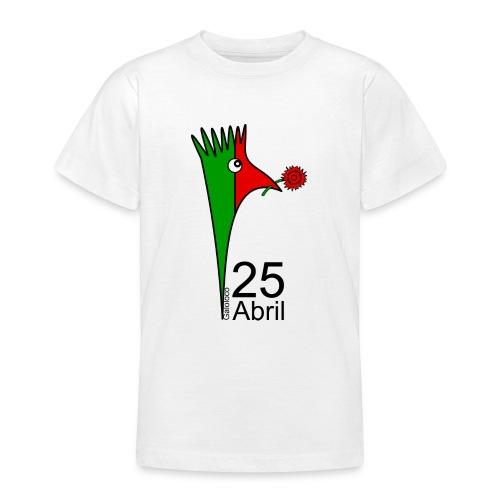 Galoloco - 25 Abril - T-shirt Ado