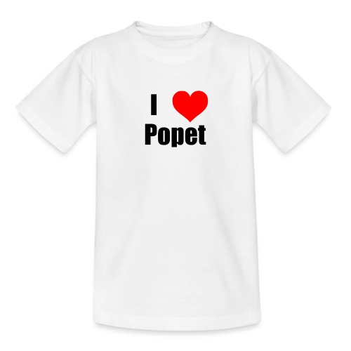 ILovePopet - Teenage T-Shirt