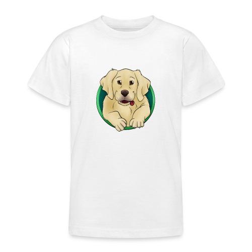 Hunde Portrait - Labrador Welpe - Teenager T-Shirt