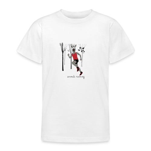 Zèbre running - T-shirt Ado