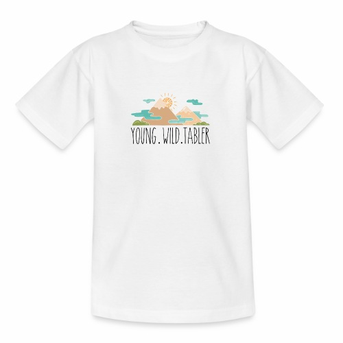 young.wild.tabler - Teenager T-Shirt