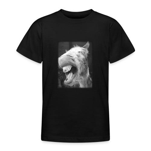 lachender Esel - Teenager T-Shirt