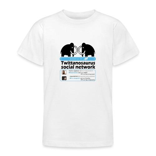 homo sapins versus neandertal - T-shirt Ado