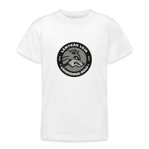 Lämykän Luja, uusi logo värikäs - Nuorten t-paita