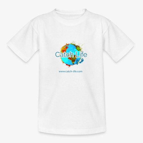 Catch Life Color - Teenage T-Shirt