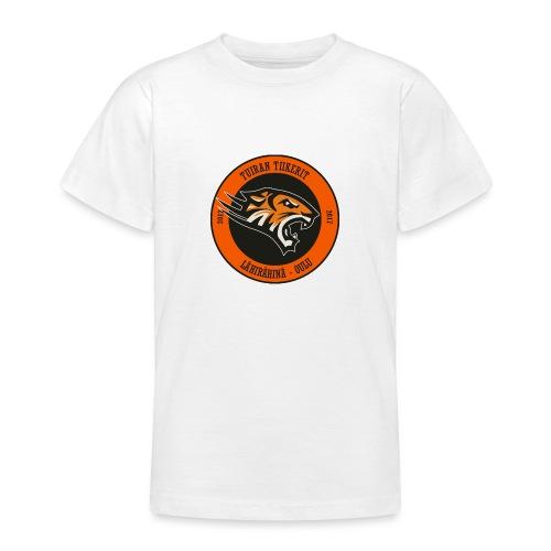 Tuiran Tiikerit, värikäs logo - Nuorten t-paita
