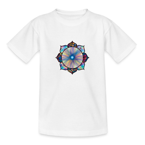 Buddha Flower - Teenage T-Shirt
