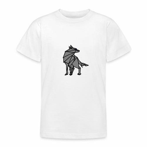 loup geometrique - T-shirt Ado
