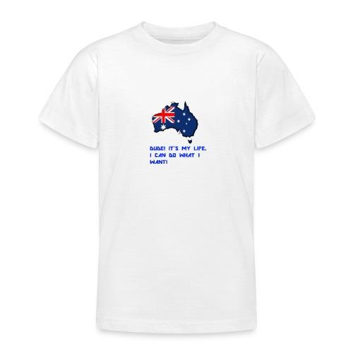 AUSTRALIAN MERCH - Teenage T-Shirt