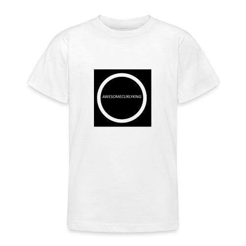 AwesomeCurlyMerch - Teenage T-Shirt