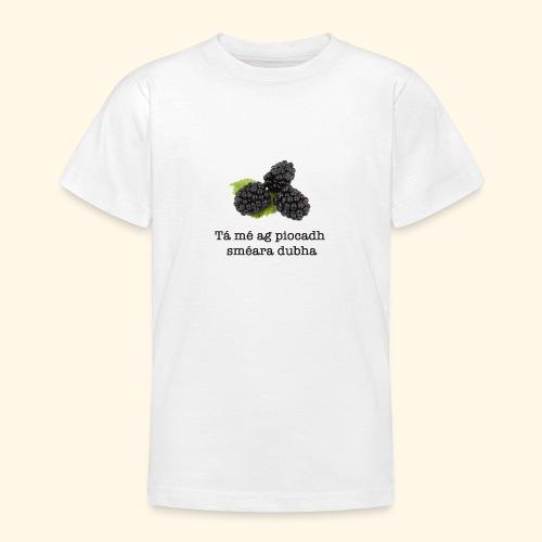 Picking blackberries - Teenage T-Shirt