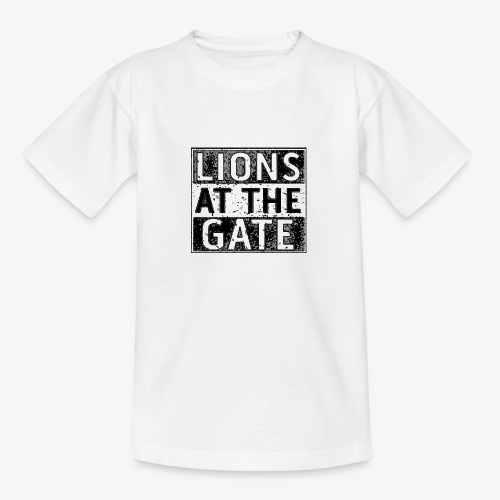 LIONS AT THE GATE BAND LOGO - Teenager T-shirt