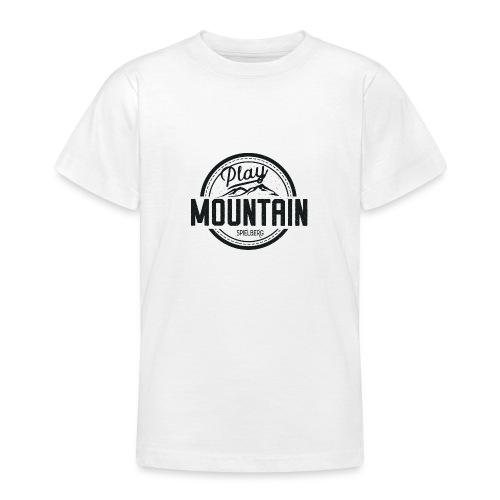 Play Mountain Black Edition - Teenager T-Shirt