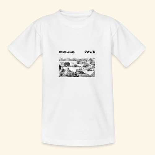 House of Dao - Temple BW - Teenager T-Shirt