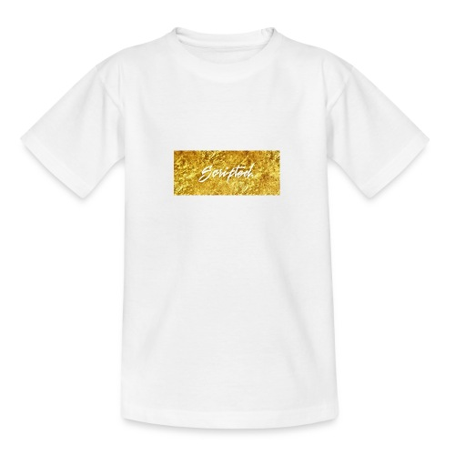 Scripted. Box Logo - Teenage T-Shirt