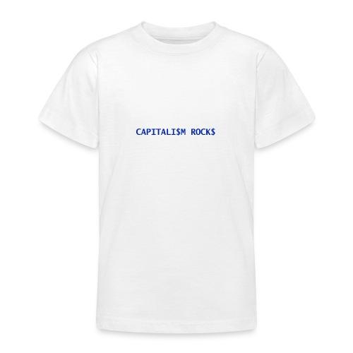CAPITALISM ROCKS - Maglietta per ragazzi