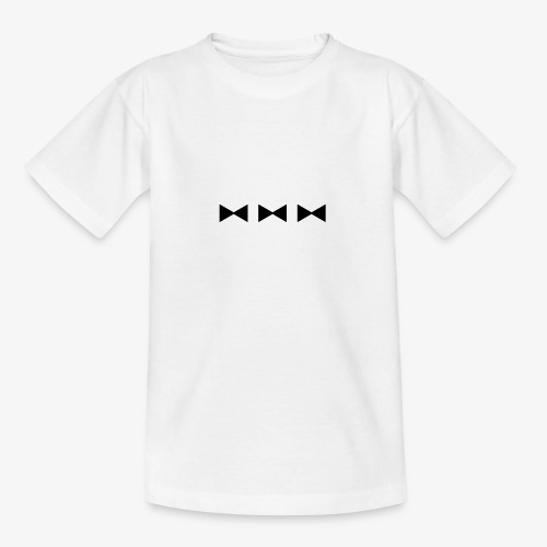 3 FLIEGEN - schwarz - Teenager T-Shirt