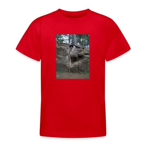 Juuret tukevasti maassa - Nuorten t-paita