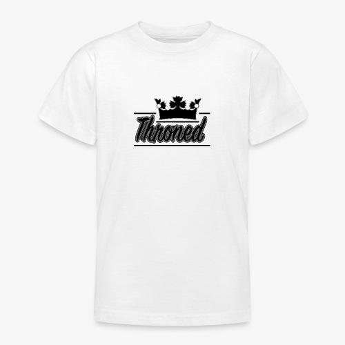 Throned Logo - Teenage T-Shirt