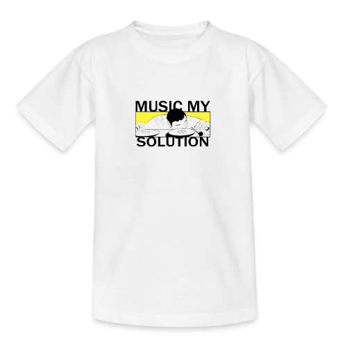 MUSIC MY SOLUTION - T-shirt Ado