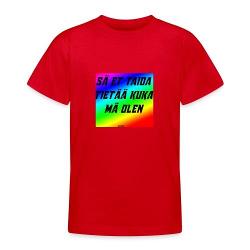 kuka olen - Nuorten t-paita