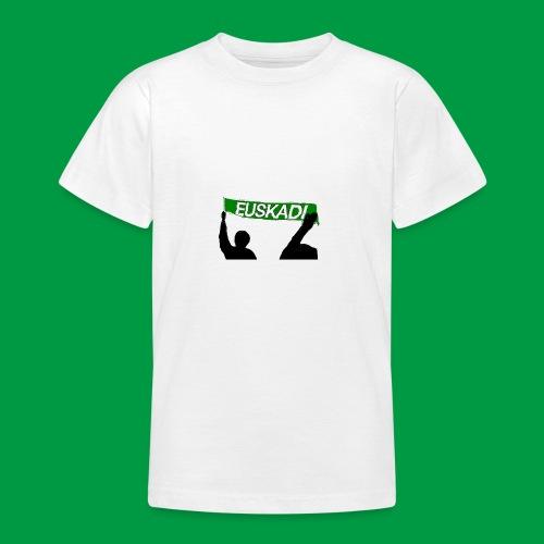 Euskadi Scarf - Teenage T-Shirt