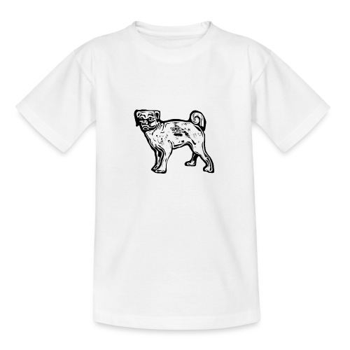 Pug Dog - Teenage T-Shirt