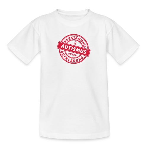 Verständnis durch Aufklärung - Teenager T-Shirt