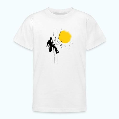 Minimal moon drawing - Teenage T-Shirt