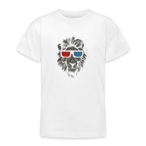 Lion 3D - T-shirt tonåring