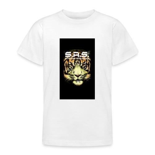 sas tiger wide jpg - Teenager T-shirt