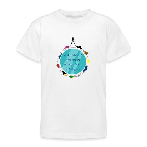 Spiegelschrift - Teenager T-Shirt