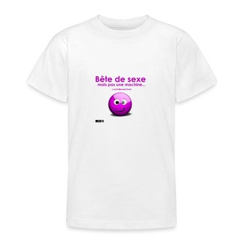 bête sexe smiley - T-shirt Ado
