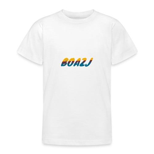 BoazJ Logo - Teenager T-shirt
