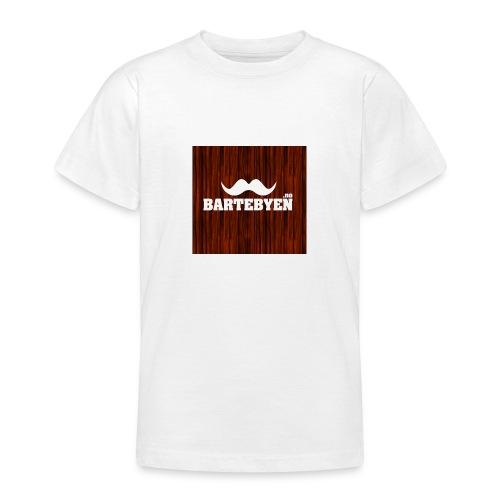 logo bartebyen buttons - T-skjorte for tenåringer
